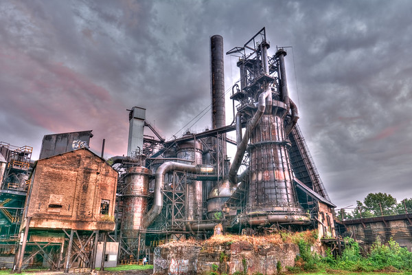Ghostly Carrie Furnace