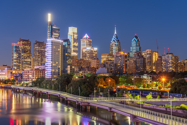 Philly Blue Hour