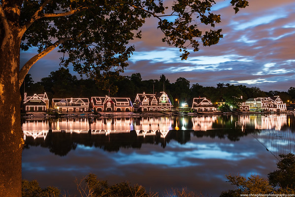 Boathouse Row Sunrise