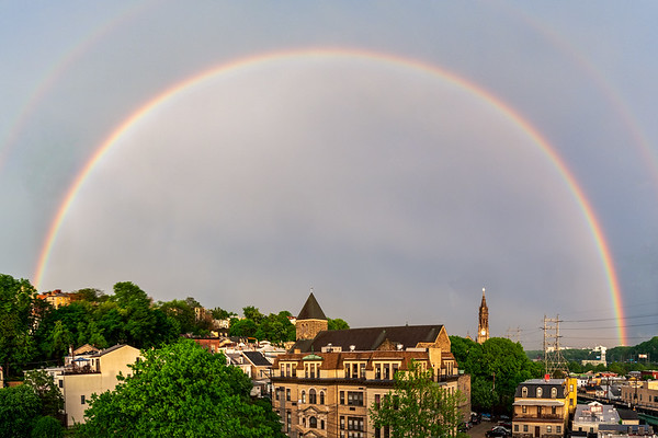 Rainbow Over Manayunk