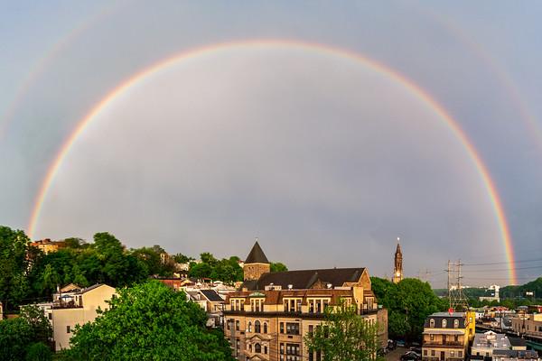 Rainbow Over Manayunk
