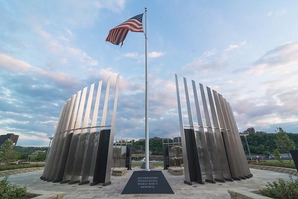 WWII Memorial, North Shore, Pittsburgh