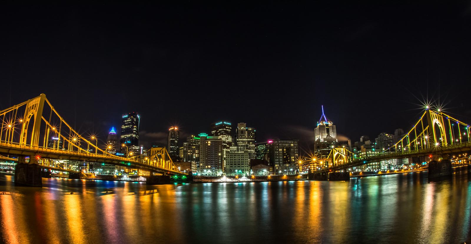 Pittsburgh Skyline, 5:29 AM
