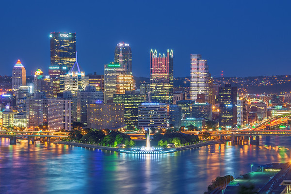 Pittsburgh From The West (End)