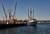 <center>Fishing Trawler Arriving  <br>Point Judith - 04 September 2013<br>Narragansett, Rhode Island</center>