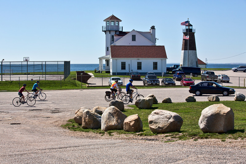 <center>Cycle Tour<br>Point Judith - 04 September 2013<br>Narragansett, Rhode Island</center>