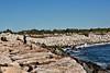 <center>Fishing the Breakwater  <br>Point Judith - 04 September 2013<br>Narragansett, Rhode Island</center>