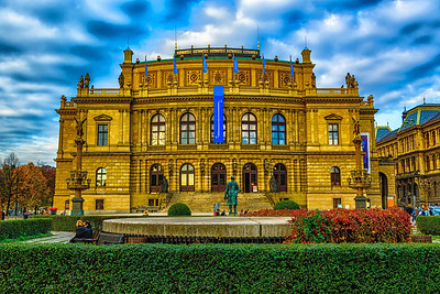 The Rudolfinum, Prague