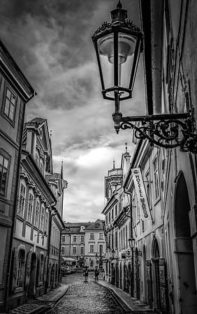 Mala Strana Side Street, Prague