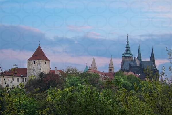Prague Castle When the Light is Low