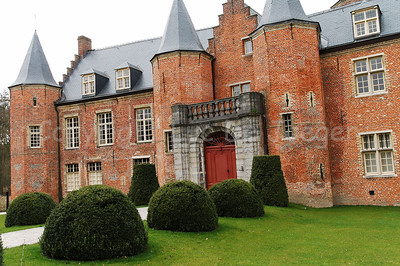 The Rumbeke Castle in Renaissance-style was built in the 16th Century. It can be found  within the Sterrebos Park near Roeselare, Belgium.