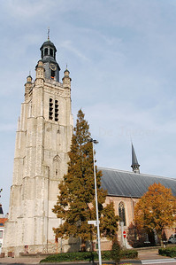The Sint Michielskerk (St Michaels Church) in Roeselare, Belgium.
