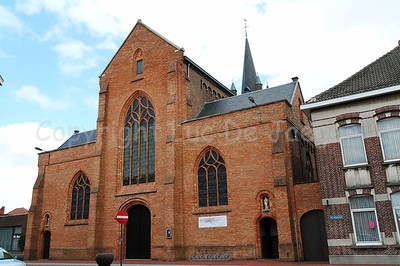 The Church of Our Lady (Onze-Lieve-Vrouwekerk) in Roeselare, Belgium.