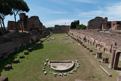 The Stadium of Domitian (Italian: Stadio di Domiziano), 86 AD