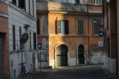 Via dei Foraggi-(where our apartment was)