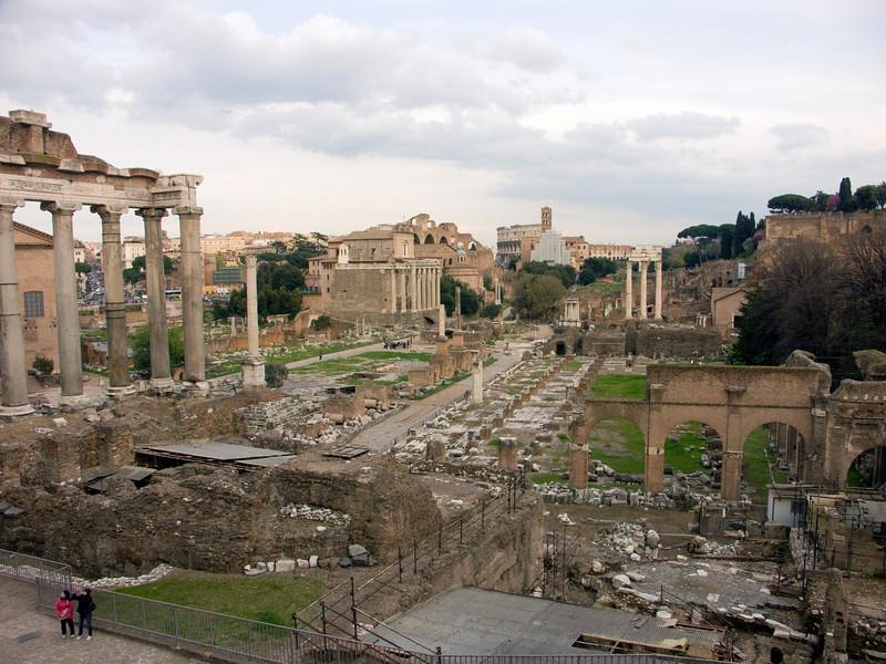 Forum Romanum western part<br /> Konica Minolta Dimage A2