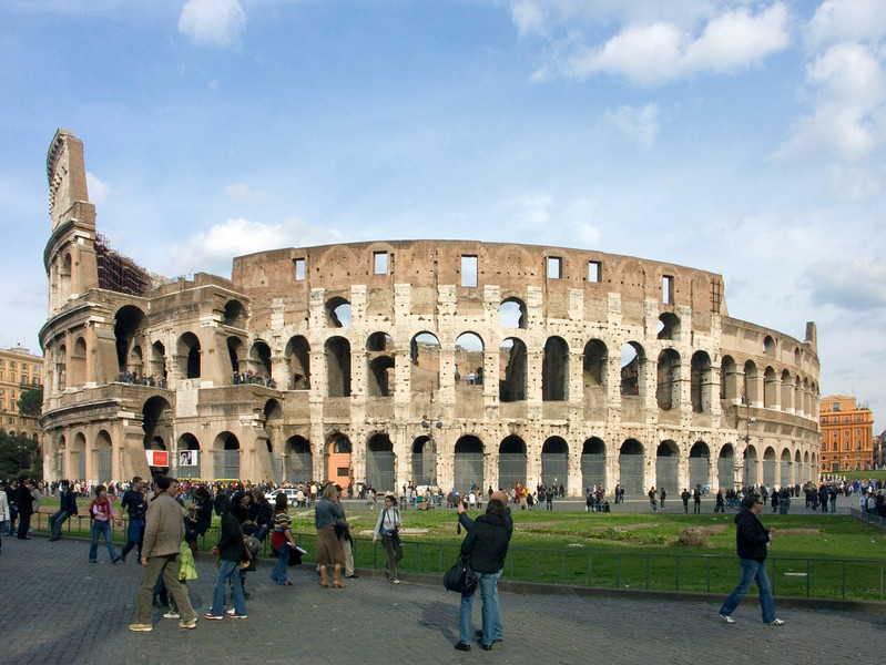 Colosseum Konica<br /> Minolta Dimage A2