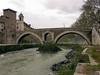 Pons Fabricius (62 BC) & Tiber Island<br /> Konica Minolta Dimage A2