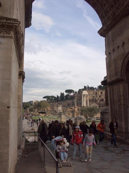 Arch of Septimius Severus<br /> Konica Minolta Dimage A2