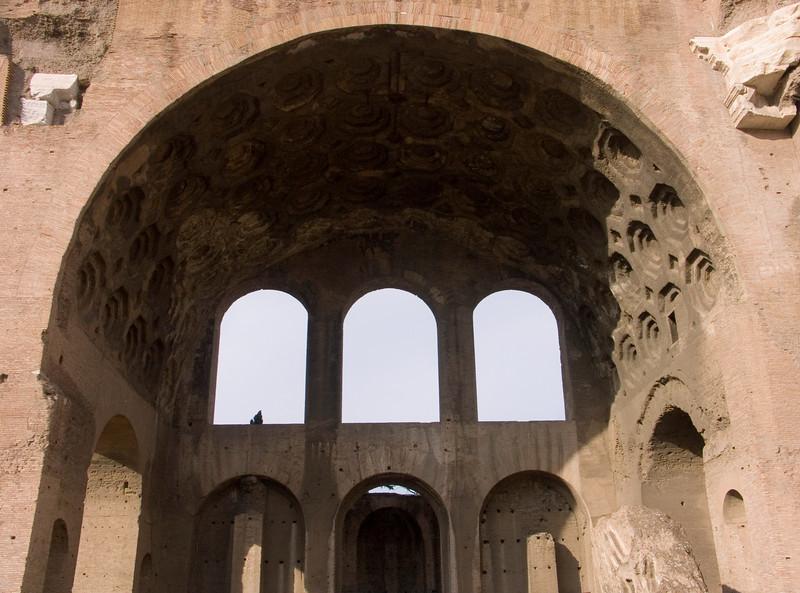 Basilica of Constantine and Maxentius<br /> Konica Minolta Dimage A2