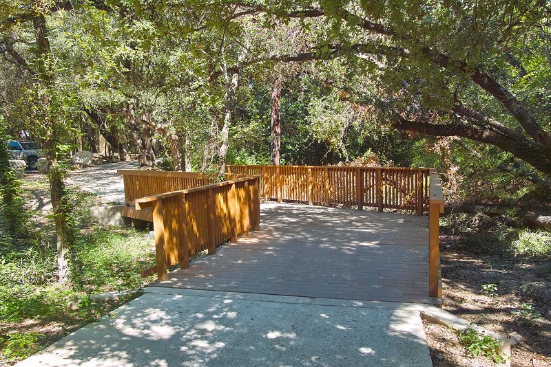 Amazing This Is A Bridge Over A Section On The Los Patio Property. There Is A