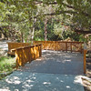 This is a bridge over a section on the Los Patio property. There is a gate at the north end of the property which is open from dawn to dusk every day.