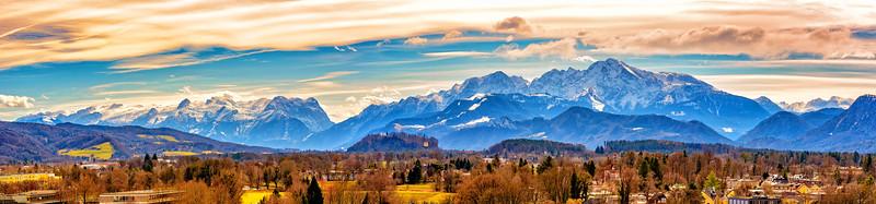 Salzburg Alpine View