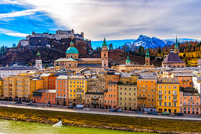 Salzburg In The Sun