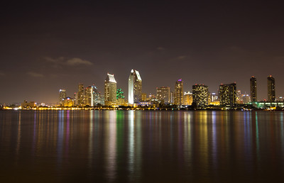 San Diego Looking From Coronado.