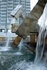 San Francisco - The Vaillancourt Fountain (Québec libre !) by Armand Vaillancourt a Canadian sculptor