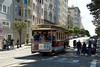 San Francisco - Hyde Street Cable Car, Lombard Street stop