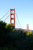 San Francisco - Golden Gate Bridge as seen from the Presidio
