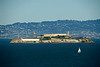 San Francisco - Alcatraz as seen from the Presidio