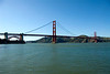 San Francisco - The Presidio, view of the Golden Gate Bridge