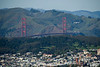 San Francisco - view of the Golden Gate Bridge from Twin Peaks