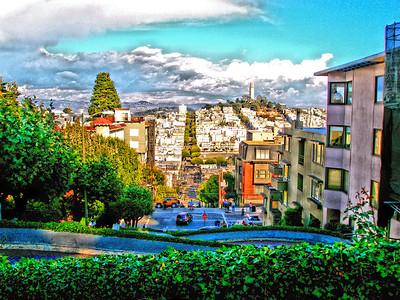 Lombard Street - San Francisco, California