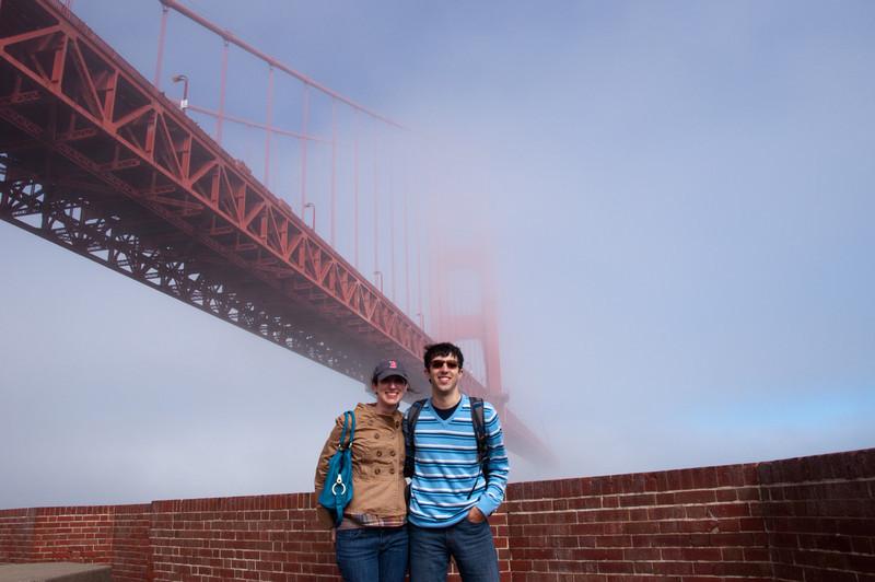 Golden Gate Bridge as seen from Fort Point