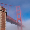 Golden Gate Bridge as seen from Fort Point