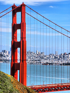 The Golden Gate and the City of San Francisco