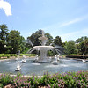 The fountain in Forsyth Park where we had lunch