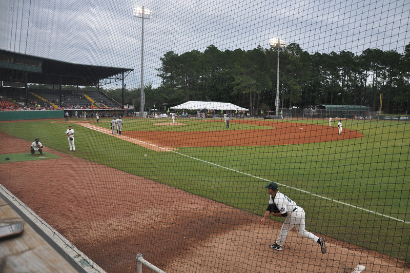 The first thing we did in Savannah was to go to a doubled header for the Sand Gnats A baseball team. Somehow they have Frank Viola as their pitching coach, plus the stadium is a great place to watch a game.