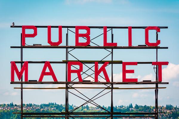 Public Market at Noon