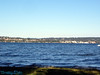 View at Warren G. Manuson Park across Lake Washington.
