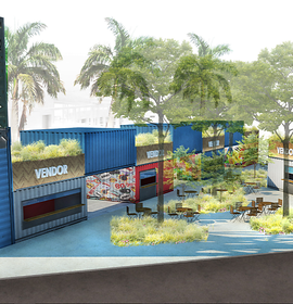 Tampa's Waterfront To Feature Shipping Container Park