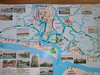 Our trusty navigation map to the Venetian Lagoon.