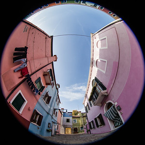 Venezia Burano - The colourful Island