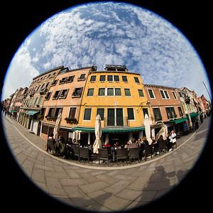 Venezia Sestiere Castello - The green space of Venice
