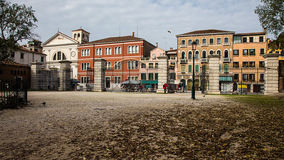 Venezia Sestiere Castello - The green space of Venice