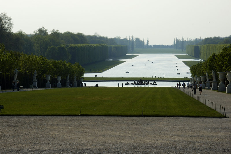 Chateau Versailles Gardens May 06 24