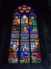 Votivkirche, windowpane, Vienna, Austria<br /> Konica Minolta Dimage A2